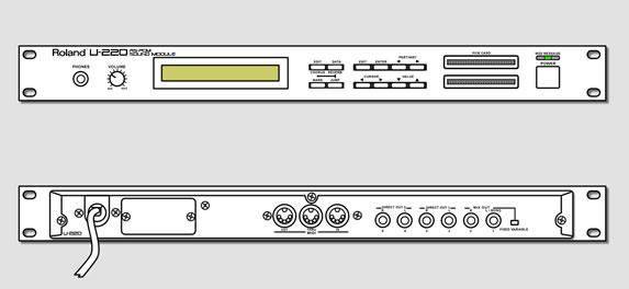roland u 220 rs pcm sound module review description info